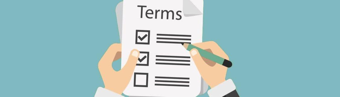 loan borrowing terms
