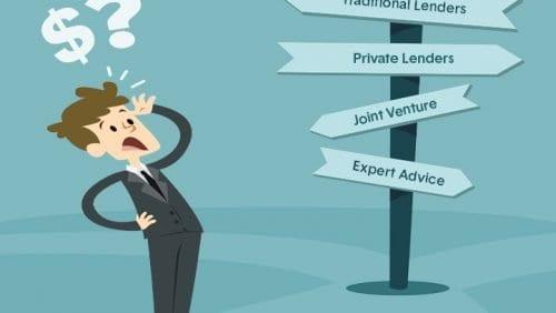 borrowing for property development